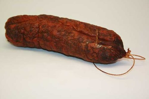 saucisson sec fumé 0.25kg Boucherie de Sévery Shop